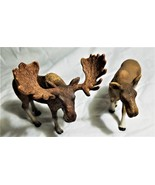 Schleich Male & Female Moose Figures - $13.00