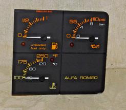 Alfa Romeo MILANO 75 Verde 3.0 Original VEGLIA FUEL OIL and TEMPERATURE ... - $31.68
