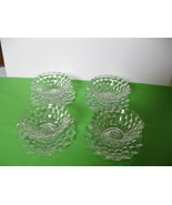 Elegant Fostoria Glass American Clear Four (4) ... - $269.99