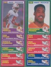 1989 Score Tampa Bay Buccaneers Football Set - $3.99