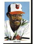 Dan Ford Autographed Baltimore Orioles Postcard Mint  - $5.99