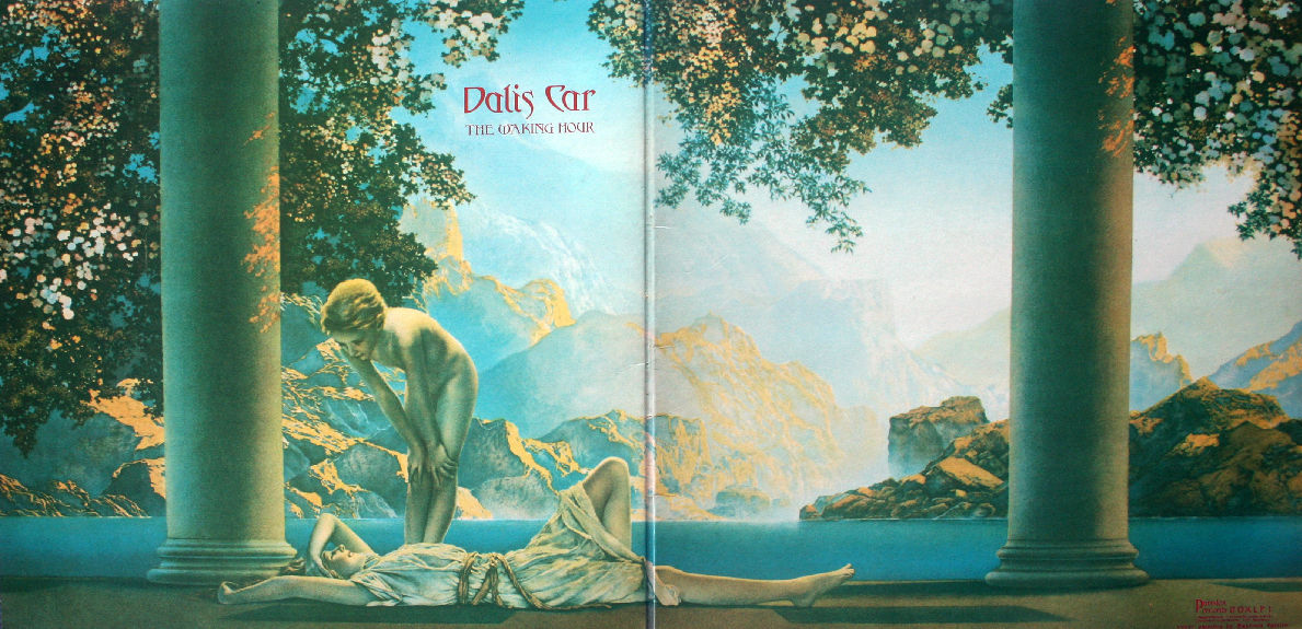 Dalis Car The Waking Hour LP Bauhaus Japan Maxfield Parrish