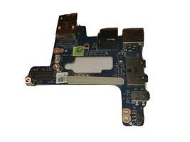 Genuine Dell Latitude E6410 USB Port w/ Audio Firewire Ethernet Board LS... - $7.52