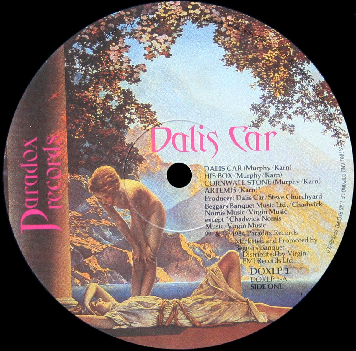 Dalis Car The Waking Hour LP Bauhaus Japan Maxfield Parrish