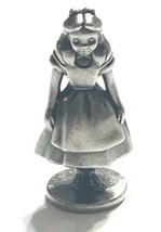 "Vintage Walt Disney Fine Pewter Collectible figure 1.5"" collectible Alice  - $14.01"