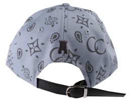 Crooks & Castles Men's Cement Monogram C Woven Strapback Baseball Hat Cap NWT image 4