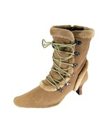 PEERAGE Viola Women Wide Width Fleece Lined Suede Dress Boots with Zipper - $49.95