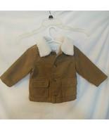 Gymboree Size 6-12 Months Brown Corduroy Coat - $5.00