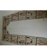 Egyptian Tapestry door surround Grand Tour - $425.00