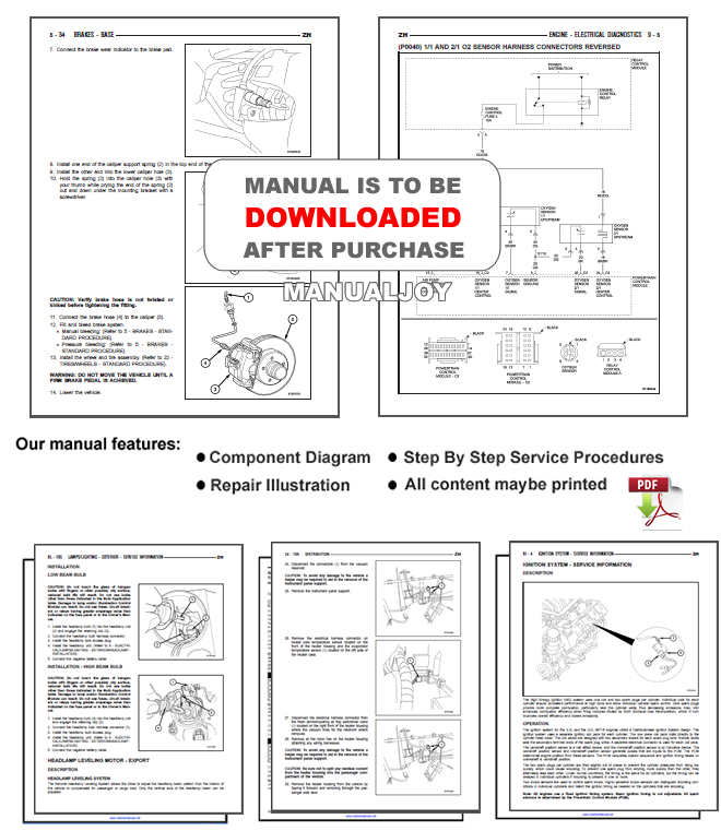 DODGE RAM 2002 2003 2004 2005 2006 2007 2008 FACTORY SERVICE REPAIR OEM MANUAL