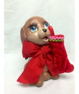 Katherine's Collection Puppy Dog With Christmas  Stocking 28-28736 - $35.99