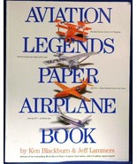 Aviation Legends Paper Airplane Book~Models~Card - $10.00