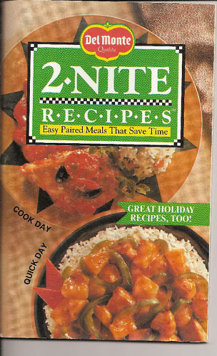 Del Monte 2 Nite Recipes Easy Paired Meals Save Time