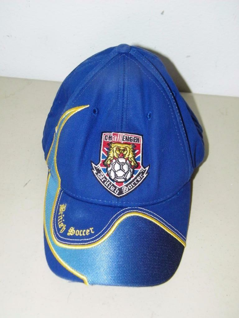 Blue Challenger British Soccer Baseball Cap Hat Ball 14605 image 2