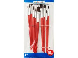 Creatology Paint Brushes, Set of 10