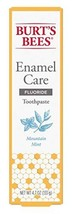 Burts Bees Toothpaste Enamel Care 4.7 Ounce Mountain Mint - $12.37
