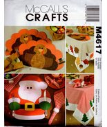 McCall's Crafts Pattern M4617- Holiday Table Settings - $9.99
