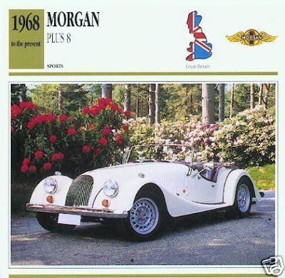 1968 - 1992 MORGAN PLUS 8 COLLECTOR