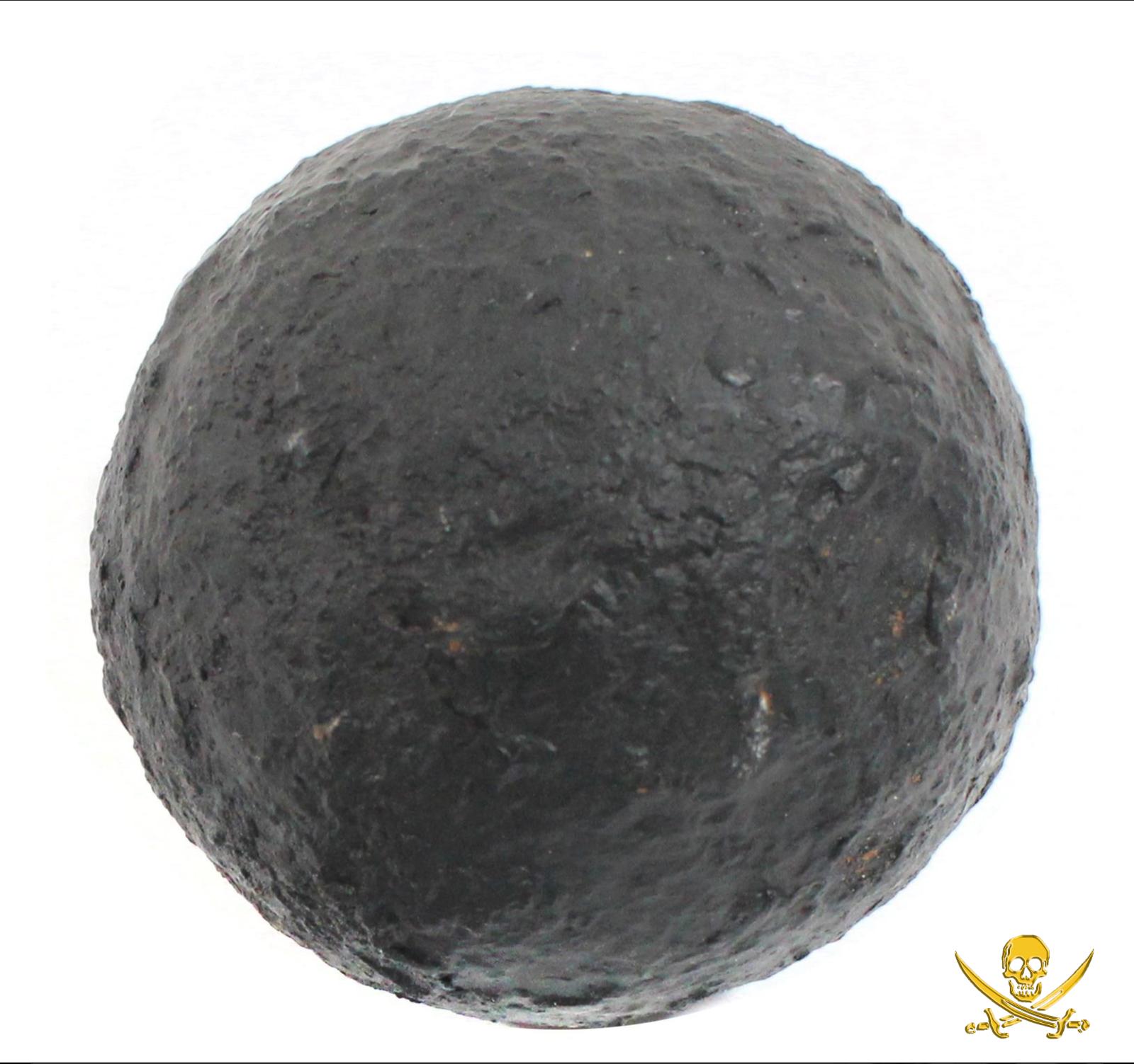 "IRON CANNONBALL 919gms 2 1/2"" PIRATE GOLD COINS SHIPWRECK TREASURE CANNON BALL"
