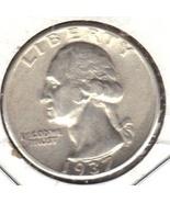 Nice A.U.1937 P Quarter - $16.00