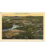 Birds Eye of Binghamton New York Vintage 1953 P... - $2.00