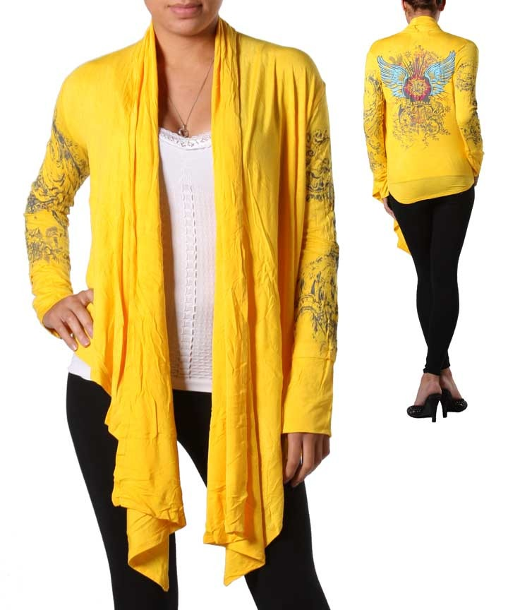 Primary image for Yellow Open Front Cardigan
