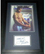 Herschel Walker SHIRTLESS Signed Framed 11x17 Photo Display UGA Georgia ... - $69.76