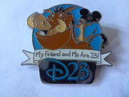 Disney Trading Pins 84082 D23 'Refer-A-Friend' Set - Pumbaa and Timon - $27.76
