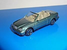 Matchbox 1 Loose Vehicle Mercedes-Benz CLK Convertible Green - $2.50