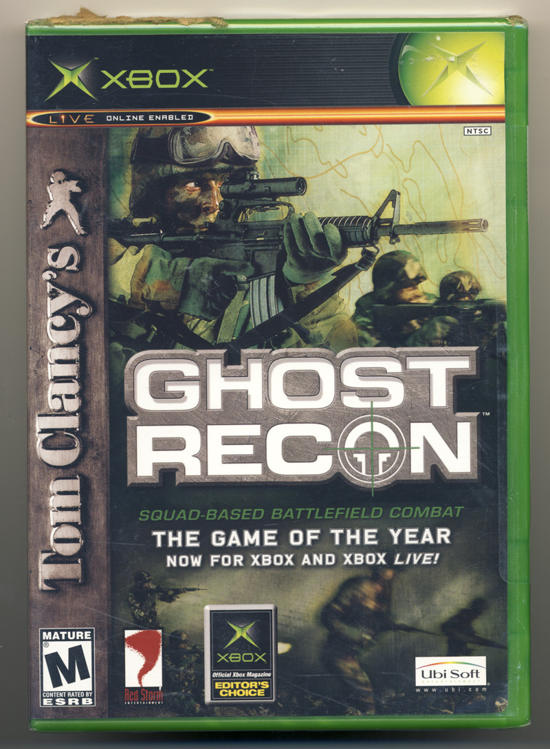 Tom Clancy's Ghost Recon (XBox) New and Sealed