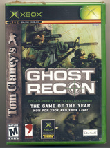 Tom Clancy's Ghost Recon (XBox) New and Sealed - $9.50