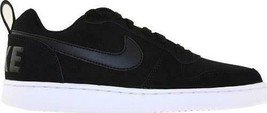 Women's Nike Court Borough Low Black Basketball Sneakers/Shoes 844905 - $35.00