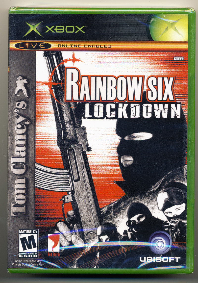 Tom Clancy's Rainbow Six Lockdown (XBox) New and Sealed