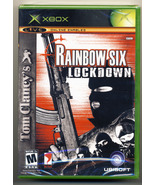Tom Clancy's Rainbow Six Lockdown (XBox) New and Sealed - $9.50