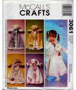 Blanket Buddies - McCall's Crafts Pattern 3061 - $6.29