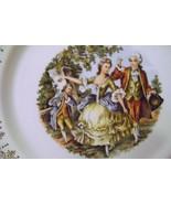 Nasco Royal Colonial  22 Kt. Gold Dinner Plates - $18.00
