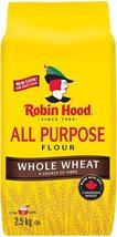 Robin Hood All Purpose Whole Wheat Flour 2 x 2.5kg bags Canada - $79.99