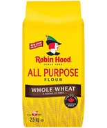 Robin Hood All Purpose Whole Wheat Flour 2 x 2.5kg bags Canada - $79.99