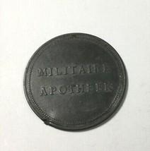 Netherlands Military Token Zinc 31 mm 2.8 gm Deposit Token Military Phar... - $14.89