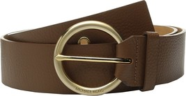MICHAEL Michael Kors Women's 50mm Pebble Leather Belt with Grommet Detai... - $49.35