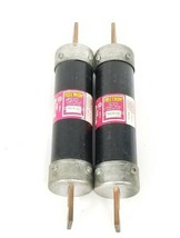 LOT OF 2 BUSSMANN FUSETRON FRS-R-150 DUAL-ELEMENT TIME-DELAY FUSES FRSR150, 150A