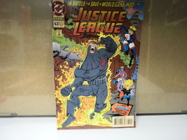 L5 Dc Comic Justice League International Issue 63 April 1994 In Good Condition - £1.96 GBP