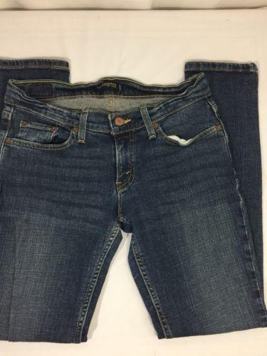 Levi's Boys Blue Denim Jeans Size 7 S/C Too Superlow 96% Cotton 2% elastano - $13.09
