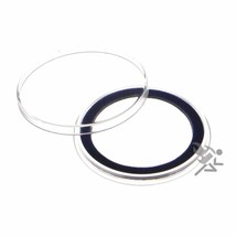 Air-Tite 38mm Blue Velour Ring Coin Capsule Holders, 10 Pack - $12.45
