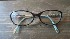 Authentic Tiffany & Co TF2063 8134 52[]16-135 Tiffany Blue Eyeglasses Frame $350 - $76.23