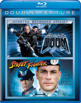 Doom/Street Fighter 2Pk (Blu Ray/Double Feature/2Discs)