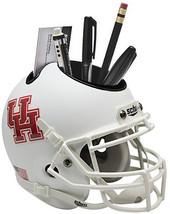 Houston Cougars (White) NCAA Football Schutt Mini Helmet Desk Caddy - $21.95