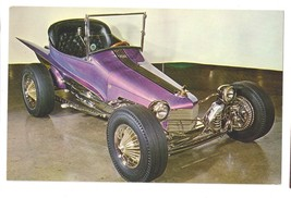 Auto Roadster Hot Rod Joe Wilhelms Wild Dream Show Car Photo Card - $7.99