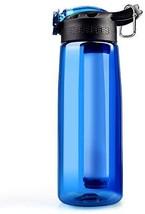 SimPure Water Filter Bottle, Emergency Water Purifier?with 4-Stage Integ... - $40.00