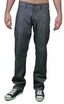 LRG Herren Raw Grau Mean Streak True Slim Straight Fit Jeans 30 Nwt